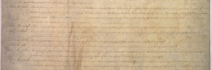 Transcription of the Bill of Rights